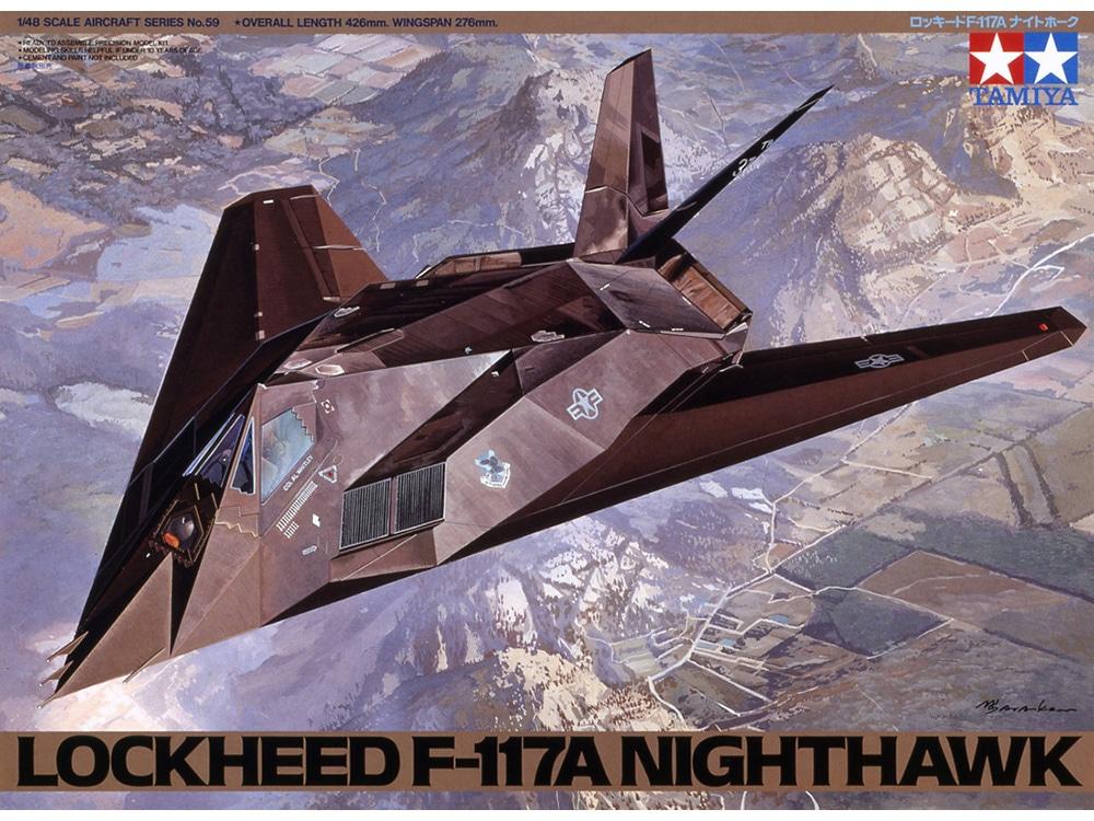 Náhľad produktu - 1:48 Lockheed F-117A Nighthawk